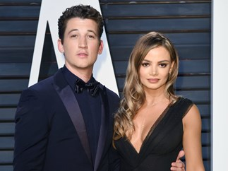 Miles Teller asks longtime GF Keleigh Sperry to marry him while on safari