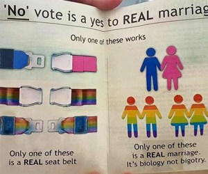 The most ridiculous same-sex marriage 'vote no' campaigns