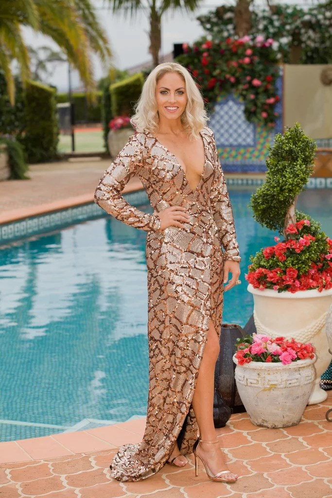 **Nikki Gogan** <br><br> THEN: Nikki was the sweet real estate agent from Perth who seemed like a perfect match for Richie.