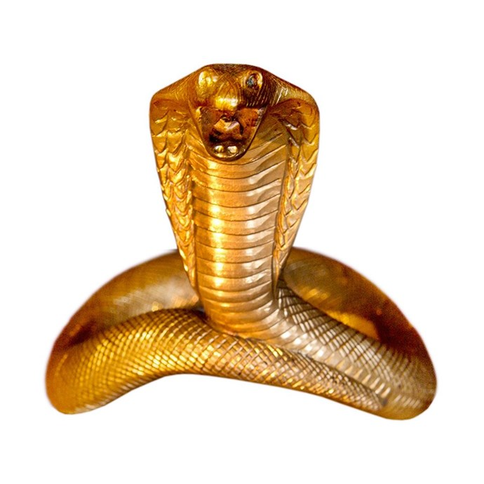 **Velv'Or's King J Cobra, $163,907** <br> <br> Believe it or not, this is actually a cock ring. It looks like a rather uncomfortable item to be swinging from your gonads, but this has been handcrafted by an award-winning silversmith — so at least it's fancy pain you'll be experiencing!