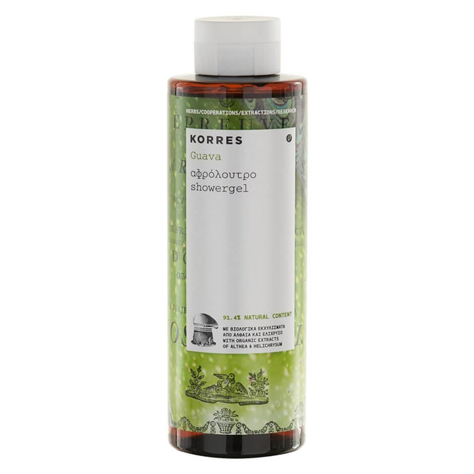 This tropical shower gel will make you go crazy for guavas. But it's not just a one-trick pony. Formulated with active aloe juice and aloe gel, the body wash helps improve your skin's immune system and keeps your skin looking youthful. <br><br>[Korres Guava Shower Gel, $17](http://www.mecca.com.au/korres/guava-shower-gel/V-015488.html)