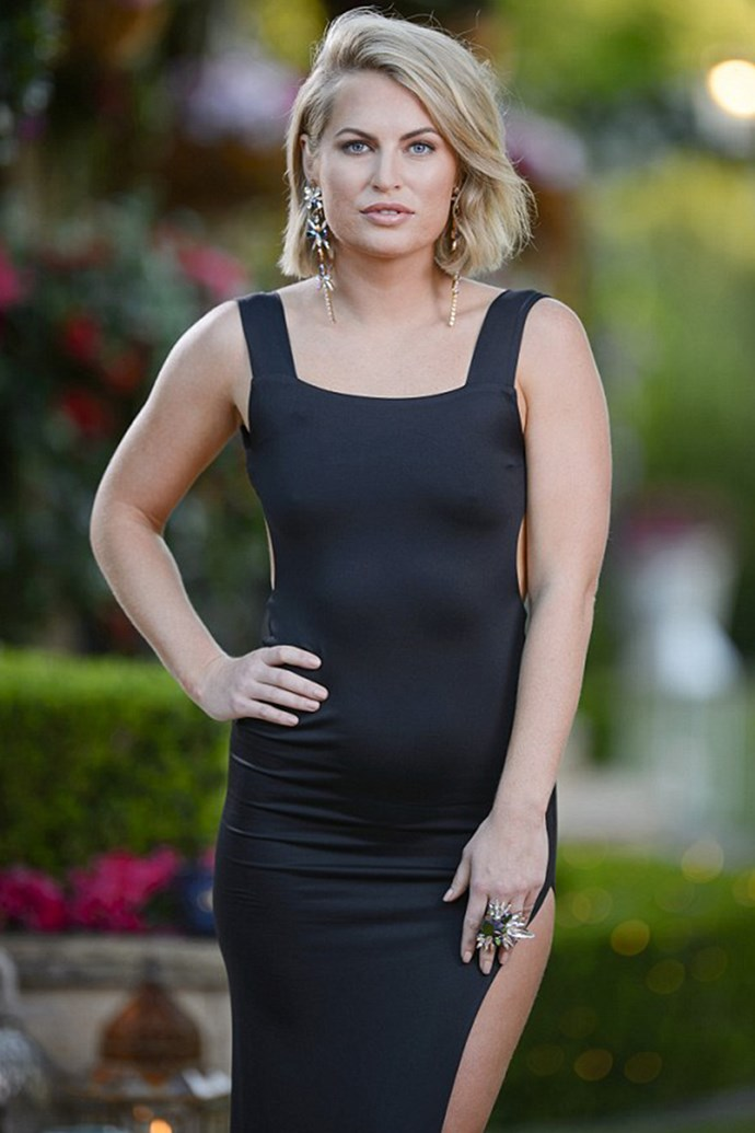 **Keira Maguire** <br> <br> The best 'bitch' in the *Bachelor* mansion, Keira, was solid gold entertainment during Richie's season. She still hasn't found love in the outside world, so we're sure that she's ready to swoop in and stir the pot in *Paradise*.