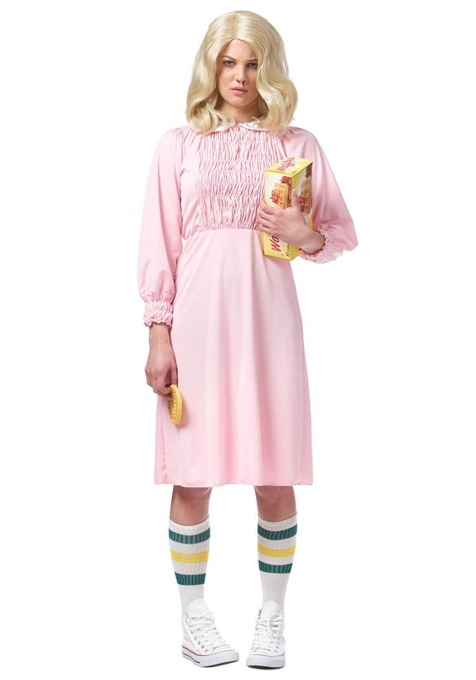 Seven Costume, $53 at [Costume Box](https://www.costumebox.com.au/strange-girl-womens-costume.html)