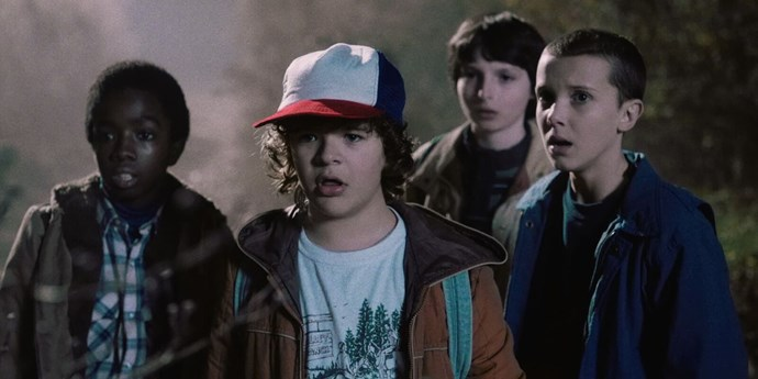 2. Number two goes to *Stranger Things* characters and, tbh, we're wayyyyyy more on board with this.