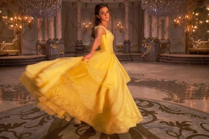 Princess Belle Costume, $93 at [Costume Box](https://www.costumebox.com.au/disney-belle-womens-costume.html)
