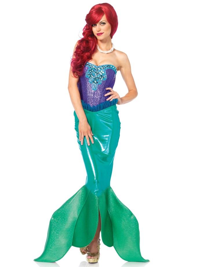 Mermaid Costume, $135 at [Costume Box](https://www.costumebox.com.au/deep-sea-siren-womens-costume.html)