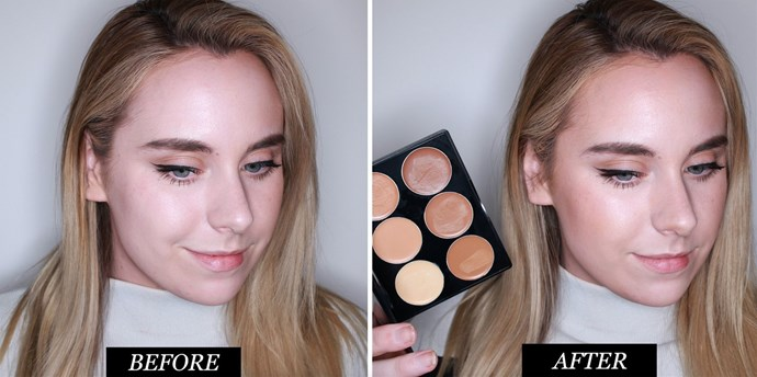 **Sleek Makeup Cream Contour Kit in Medium<br> Best kit for bronzing *and* contouring** <br><br> This palette is super creamy, and whilst that means it blends out easy-peasy, it isn't quite as pigmented as some of the others, so you need to go HAM if you want to seriously chisel out those cheeks. The shades run a little warm, which means it's flatter for bronzing up sallow skin, but not the *most* natural looking when it comes to contouring.  <br> <br>*Sleek Makeup Cream Contour Kit in Medium, $29.97 at [Fishpond]( https://www.fishpond.com.au/Beauty/Sleek-MakeUP-Cream-Contour-Kit-Medium/0784755304520)* <br><br> **Rating: 6/10**