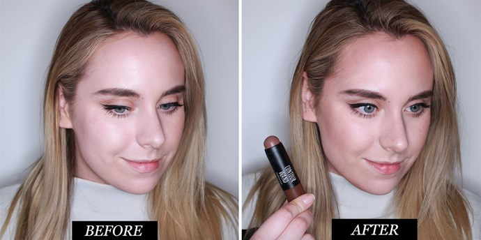 **Topshop Contour Wand in Shapes<br> Best contouring makeup for beginners** <br><br> This crayon is perfect if you want faff-free contouring makeup. Simply swipe it on, blend it out, and you're good to go. Although the formula is pretty pigmented, I found it easy to blend out with a damp beauty sponge. The shade has a very subtle red undertone, which, for my naturally rosy skin wasn't the most flattering.  <br><br>**Rating: 8/10**