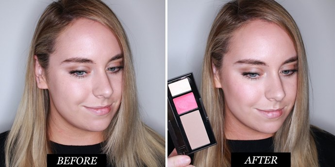 **Studio 10 Visible Lift Face Definer <br> Best contour kit for travelling** <br><br> This handy palette has an ashy contour powder, rosy cream blush and champagne-gold highlighter. The light powder gives a natural looking contour, whilst the blush and highlight can be built up for a stronger finish. At $54 it's not the cheapest, but you do get three products for the price of one.  <br> <br> *Studio 10 Visible Lift Face Definer, $54 at [Sephora](https://www.sephora.com.au/products/studio-10-visible-lift-face-definer)* <br><br> **Rating: 8/10**