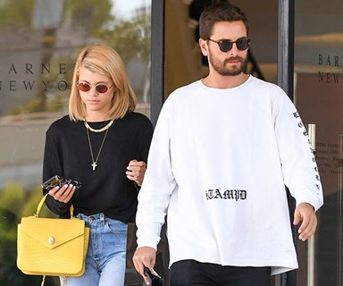 Sooo Sofia Richie and Scott Disick just went Instagram official
