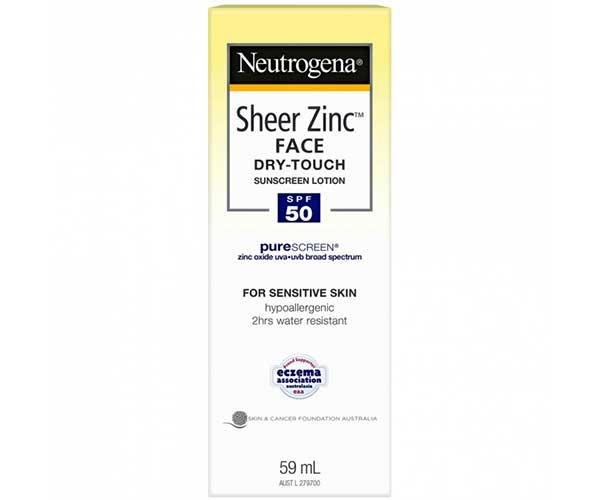 **Neutrogena Sheer Zinc Face Sunscreen Lotion SPF 50** on sale for $9.95 at [Priceline](https://www.priceline.com.au/brand/neutrogena/neutrogena-sheer-zinc-face-sunscreen-lotion-spf-50-59-ml)  **Why we love it:** This new zinc sunscreen by Neutrogena is very different to the zinc your mum made you wear to the beach in primary school. Bu it does the same job, providing a physical barrier between your skin and the sun. Wear it.