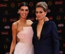 Photographic proof female AFL players were the real stars of the Brownlows