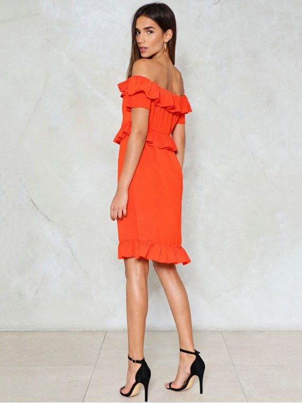 Dress, $56 at [Nasty Gal](http://www.nastygal.com/au/out-to-sea-off-the-shoulder-dress/AGG98535.html?color=152)