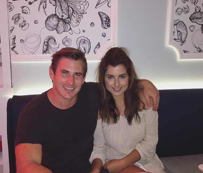 **Dave Billsborrow and Sarah Amey** <br><br> Two OG *Bachelor* and *Bachelorette* contestants [briefly found love](https://www.instagram.com/p/BAy7EfNgPiG/?taken-by=dave_billsborrow) — through another contestant! Wow, OK let's break it down. Dave was a contestant on Sam Frost's season of *The Bachelorette*, so they kind of ~dated~ — in fact, he was the first guy she took on a single date, and they definitely kissed. Sam obviously chose Sasha Mielczarek (R.I.P. to that relationship), but she and Dave stayed mates. <br><br> Sam was living with Sarah, so she introduced them, and for a few months they were a thing. After they broke up, Sarah started dating Daniel Small (AKA Saxon from *Big Brother* 2003, so she obviously has a thing for former reality stars), and Dave started dating Cortnee Spessot.