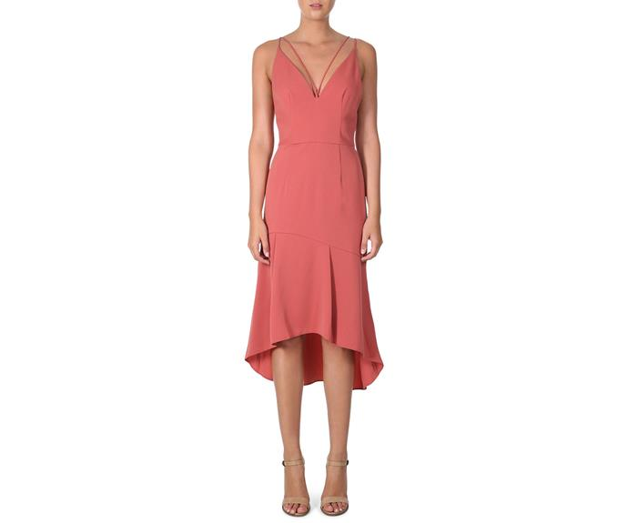 "Dress, $118.97, Cooper St at [Myer](https://www.myer.com.au/shop/mystore/offers/dresses/cocktail-party-dresses/cooper-st-lovine-dress|target=""_blank""