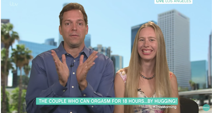 "Pair say they can ""Orgasm by God."""