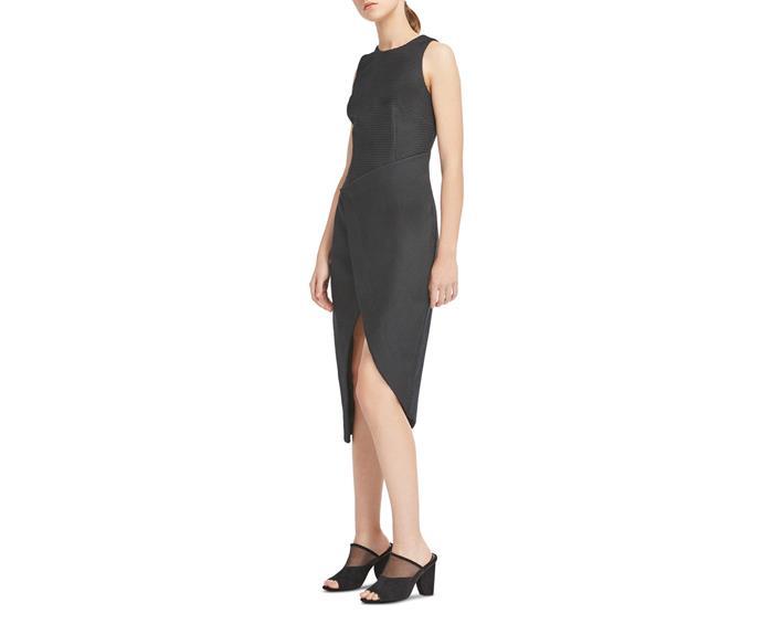 "Dress, $94.98, Flinders at [Myer](https://www.myer.com.au/shop/mystore/women/dresses/the-reeling-midi-dress-521731720|target=""_blank""|rel=""nofollow"")"