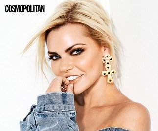 Sophie Monk in Cosmopolitan magazine