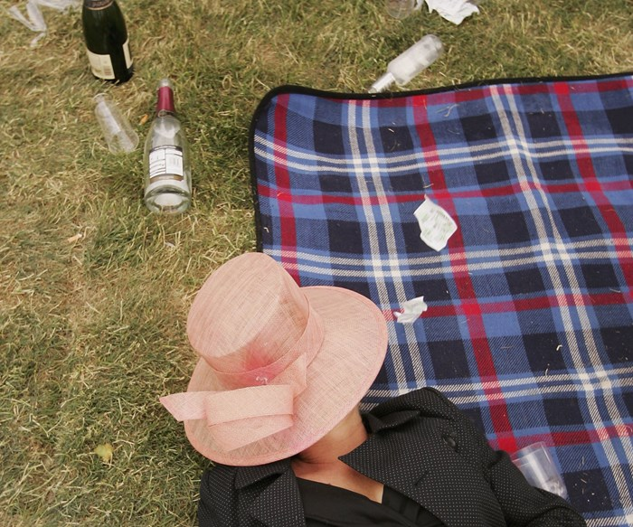 How to keep classy at the races