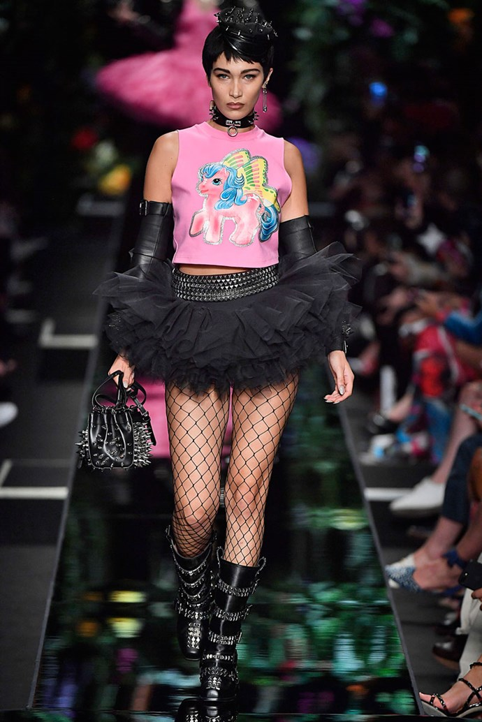 No word of a lie, legit think I wore this to a year 10 dress up Halloween party where I went as a sexy policewoman. <br><br> At Moschino SS/18