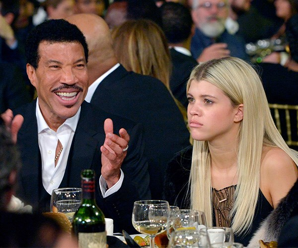 Lionel Richie is NOT happy about Sofia's relationship with Scott Disick