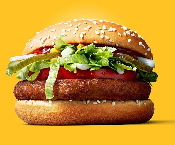 mcdonalds vegan burger