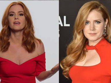 Isla Fisher releases PSA to inform everyone she's not Amy Adams