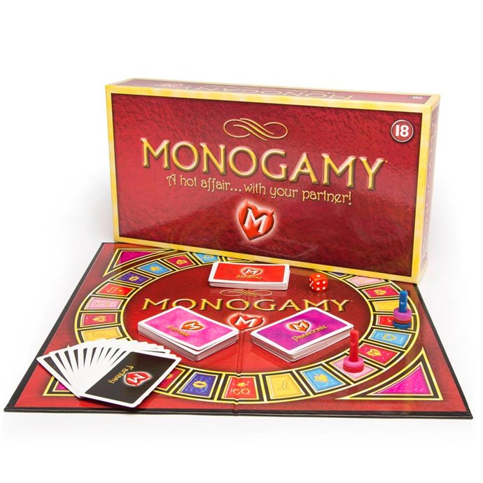 **Monogamy: A Hot Affair Game**, $44.95 from [Lovehoney](https://www.lovehoney.com.au/product.cfm?p=662). <br> <br> Looking to spice things up with your one and only? Well with this saucy board game, you can have a red-hot affair with your very own partner! Dim the lights, switch off the phone and get ready to play one of the hottest board games ever. Experience new, exciting and occasionally hilarious challenges with the throw of a dice.