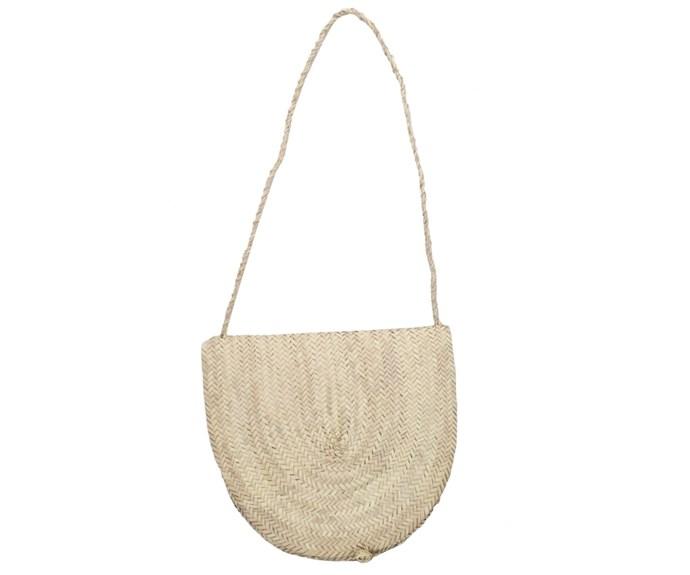 "French Baskets Wicker Basket Bag, $56, at [Splice Boutique](http://www.spliceboutique.com.au/french-baskets-wicker-basket-bag-rote-handle.html|target=""_blank""|rel=""nofollow"")"