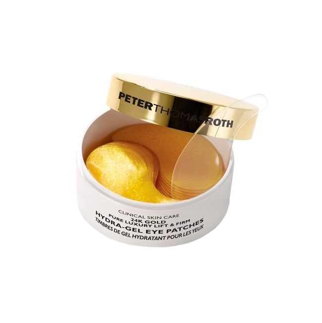 """[**Peter Thomas Roth 24k Gold Hydra-Gel Eye Patches, $115 at Beauty Bay**](https://www.beautybay.com//skincare/peterthomasroth/24kgoldpureluxuryliftfirmhydrageleyepatches?utm_source=google%2Bshopping&utm_medium=organic&utm_campaign=shopping%2Bfeed&selectedSku=PTRO0230F&ctyid=au&gclid=EAIaIQobChMI-vLI6sXk1gIVxARoCh2iOwu4EAkYASABEgKa-vD_BwE