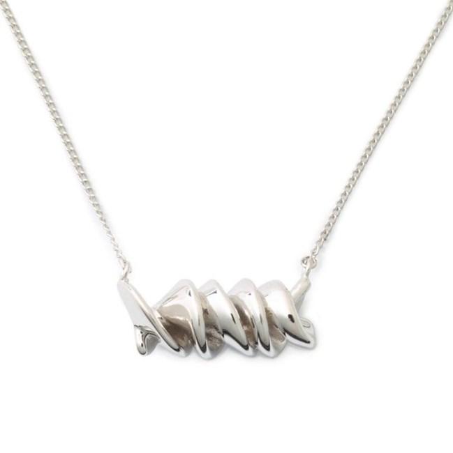 "[Sterling Silver Rotini Necklace, $127 at DELICACIES JEWELRY](https://delicaciesjewelry.com/shop/al-dente/sterling-silver-rotini-necklace/|target=""_blank""|rel=""nofollow"")"