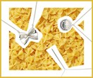 Finally! This pasta jewellery lets you rep your favourite carb