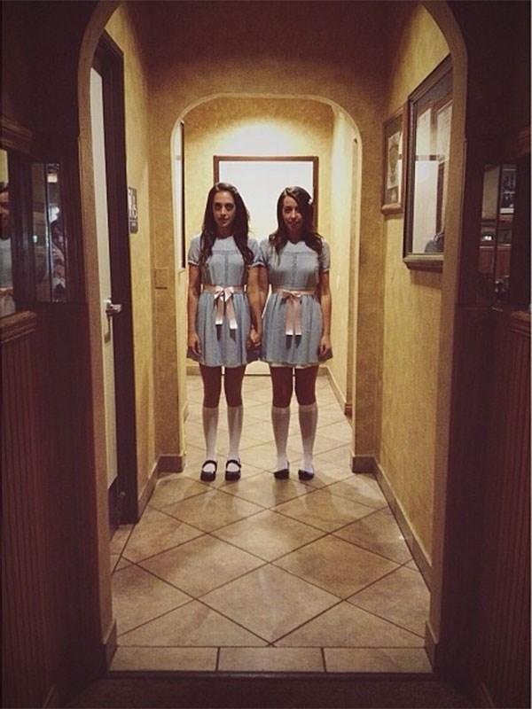 **The Grady Twins From 'The Shining'** <br><br> Image: [Instagram](https://www.instagram.com/p/gJ0HkLserg/)