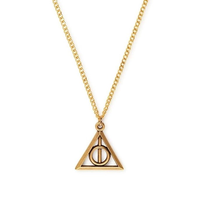 """[Deathly Hallows Necklace, $49 at ALEX AND ANI](http://www.alexandani.com.au/