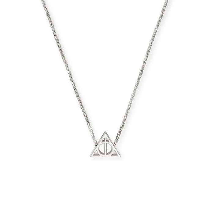 """[Deathly Hallows Adjustable Necklace, $100 at ALEX AND ANI](http://www.alexandani.com.au/
