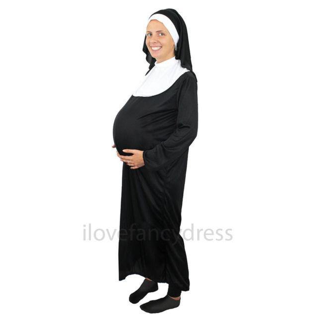 "**""[Pregnant nun costume](https://www.ebay.com.au/i/191484316849?chn=ps&dispItem=1)""**<br><br> We get that this one is more on the cheeky side, but let's just be on the front foot here and say that making fun of any religion is capital-B Bad."