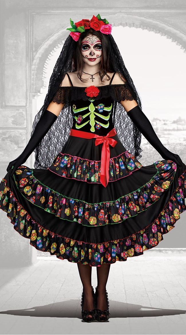 """**""""[Lady Of The Dead Costume](http://www.yandy.com/Lady-Of-The-Dead-Costume-10680.php)""""**<br><br> Same deal."""