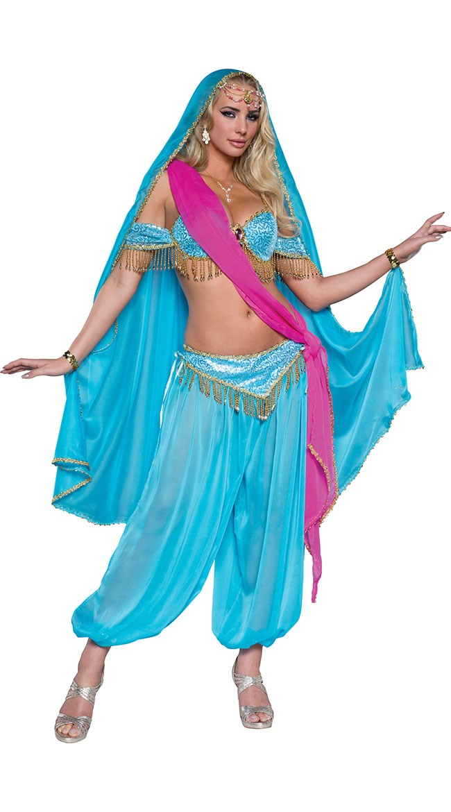 """**""""[Deluxe Exotic Jewel of the East Costume](http://www.yandy.com/Deluxe-Exotic-Jewel-of-the-East-Costume.php)""""**<br><br> Similarly, costumes based on peoples of the Arab world are generally to be avoided, too."""