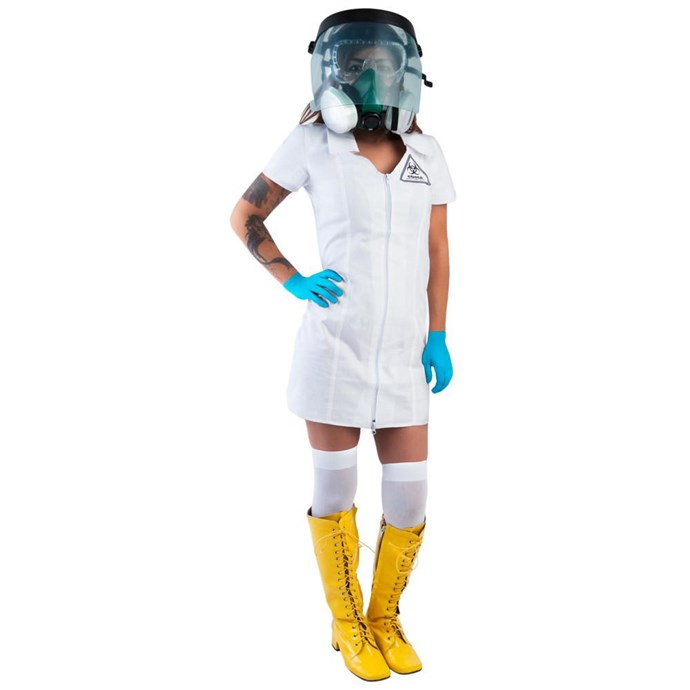 """**""""[Sexy Ebola Costume](https://www.costumeish.com/collections/hot-takes/products/sexy-ebola-costume)""""**<br><br> Don't want to make light of an epidemic that resulted in the deaths of more than 12,000 people? Don't wear this costume."""