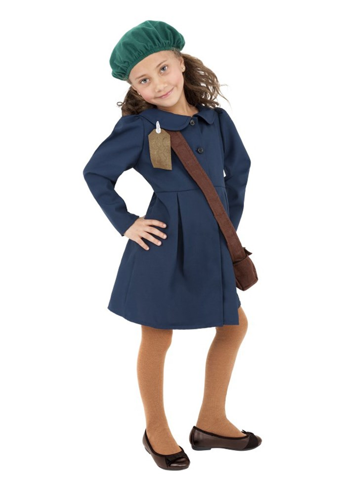 """**""""Anne Frank kid costume""""**<br><br> In a list of 'Historical figures NOT to dress up as for Halloween,' we'd rank Anne Frank pretty highly. Like, very high. Maybe number one."""