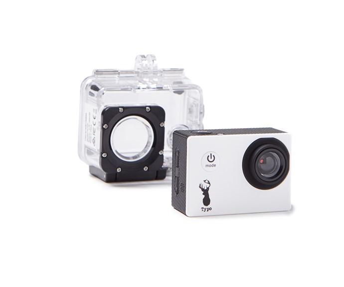 "Action Camera, $79.99 at [Typo](http://cottonon.com/AU/action-camera/141755-00.html?dwvar_141755-00_color=141755-00&cgid=#q=camera&lang=en_AU&start=2|target=""_blank""|rel=""nofollow"")"