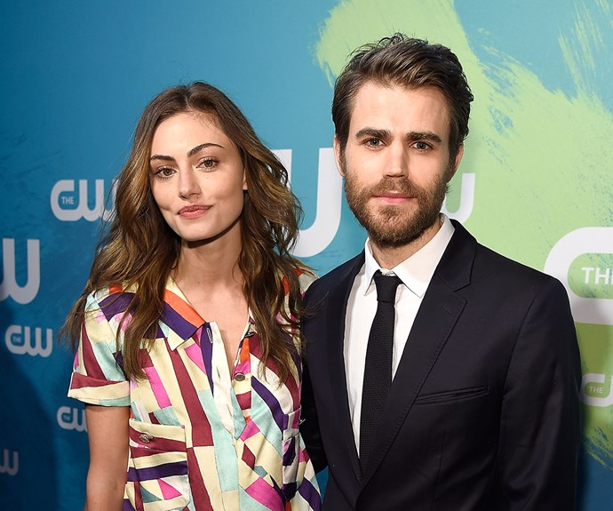 Phoebe Tonkin and Paul Wesley