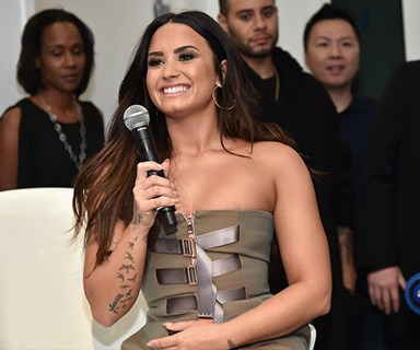 Demi Lovato shares a shocking 'before and after' picture of her eating disorder