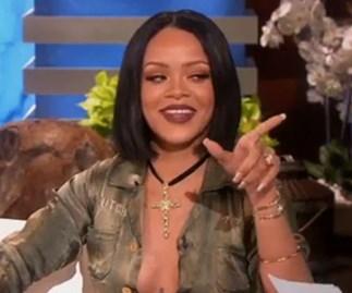 Rihanna Ellen show