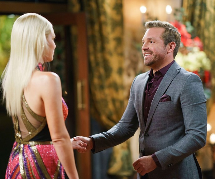 Sophie Monk and James Trethewie on The Bachelorette Australia 2017
