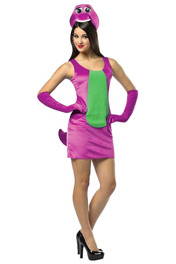 "**Sexy Barney** Sexy Barney Costume, via [Pinterest](https://www.pinterest.com.au/pin/177188566563082839/|target=""_blank""|rel=""nofollow"")"