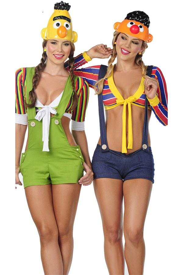 "**Sexy Bert & Ernie** Sexy Bert & Ernie Costumes, via [Yandy](http://www.yandy.com/search.php?q=sesame+street|target=""_blank""|rel=""nofollow"")"