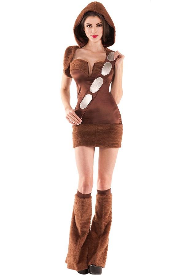 "**Sexy Chewbacca** Sexy Chewbacca Costume, $95 at [Costume Box](https://www.costumebox.com.au/furry-space-womens-costume.html?gclid=EAIaIQobChMIsqS1zteF1wIVgwcqCh0hlA9uEAYYASABEgKQYPD_BwE|target=""_blank""|rel=""nofollow"")"