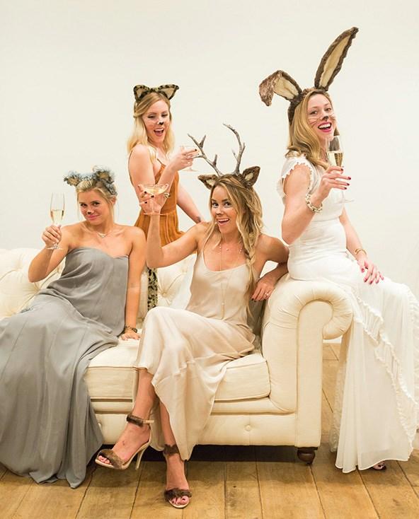 Lauren Conrad's deer Halloween costume — alongside her woodland friends.