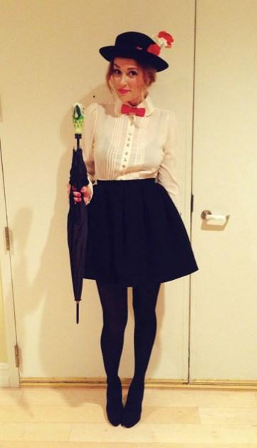Lauren Conrad's Mary Poppins Halloween costume.